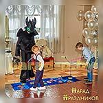 Аниматор Беззубик проводит игровую программу