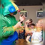 Аниматор Бравл Старс Леон на детском празднике