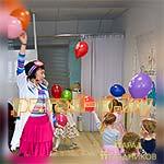 Аниматор Доктор Плюшева с воздушными шариками