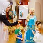 Аниматоры Холодное Сердце Эльза и Олаф на детской вечеринке