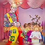 Отмечание детского дня рождения с Аниматором Клоуном