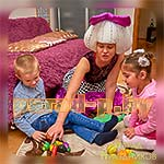 Аниматор Кукла Лол на детском празднике
