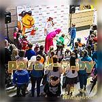 Аниматоры Мастер-Шеф развлекают детей на празднике