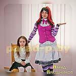 Аниматор Монстер Хай Дракула фотографируется с именинницей