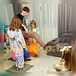 Аниматор Пижамной Вечеринки на семейном празднике