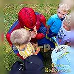 Аниматор Человек-Паук на детском празднике