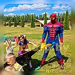 Аниматор Человек-Паук на детской вечеринке