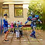 Аниматор Трансформер на детском празднике