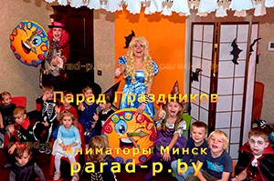Аниматоры Алиса в Стране чудес и Шляпник в Минске