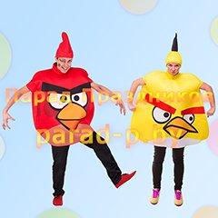 Angry Birds аниматоры на детский день рождения Минск