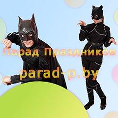 Бэтмен и Женщина-кошка аниматоры на детский праздник Минск