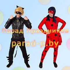 Леди Баг и Суперкот аниматоры на детский праздник Минск