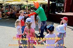 Аниматор в Минске Николас знакомится с детьми