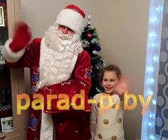 Дед Мороз и Снегурочка на дом в Минске на день рождения
