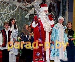 Дед Мороз и Снегурочка на утренник в Минске на день рождения