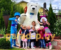 Медведь в Минске