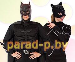 Аниматоры Бэтмен и Чёрная Кошка в Минске