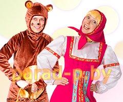 Аниматоры Маша и Медведь в Минске
