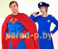 Аниматоры Супермен и Секретный Агент в Минске