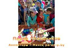 Аквагримёр в Минске готовится рисовать на празднике