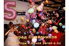 Микки и Минни Маусы лопнули Шар-сюрприз в Минске на детском дне рождении